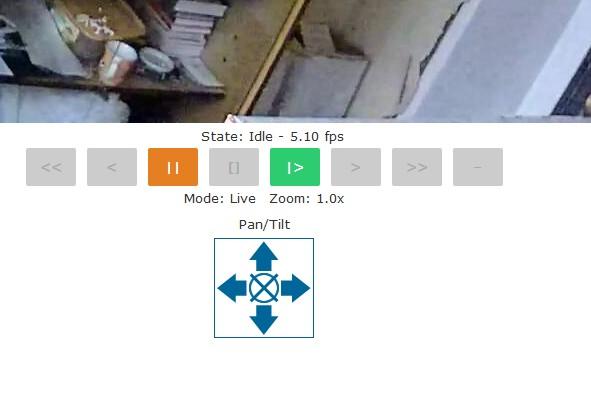 PTZ controls in Zoneminder for Vstarcam C7823WIP camera – Koshka