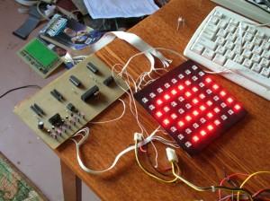 Pirahna LED message board