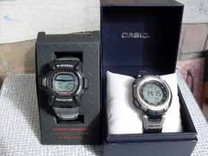 Casio Riseman DW-9100 vs Protrek PRW-1300