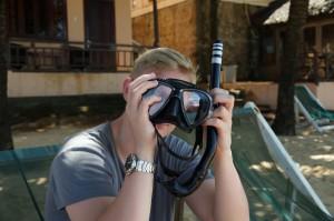 Seiko Solar Diver SNE107. Vietnam, Phu Quoc, Kim Hoa Resort